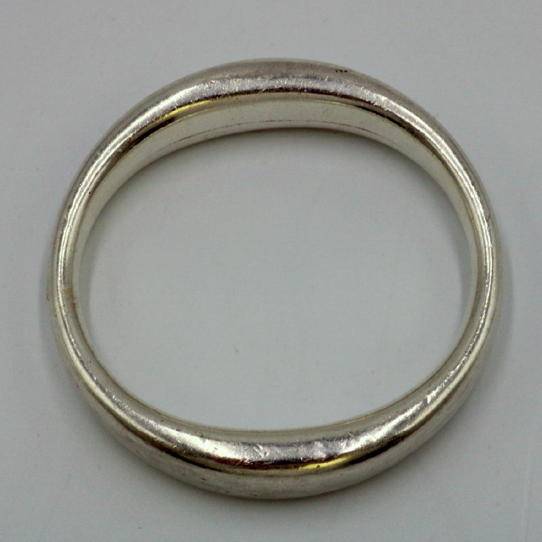 "Vintage Tiffany & Co. ""Eternal Circle"" Sterling Bangle - 2"