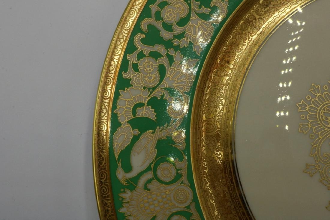 12 Pc. Rosenthal Ivory Gilt Painted Dinner Plates - 4