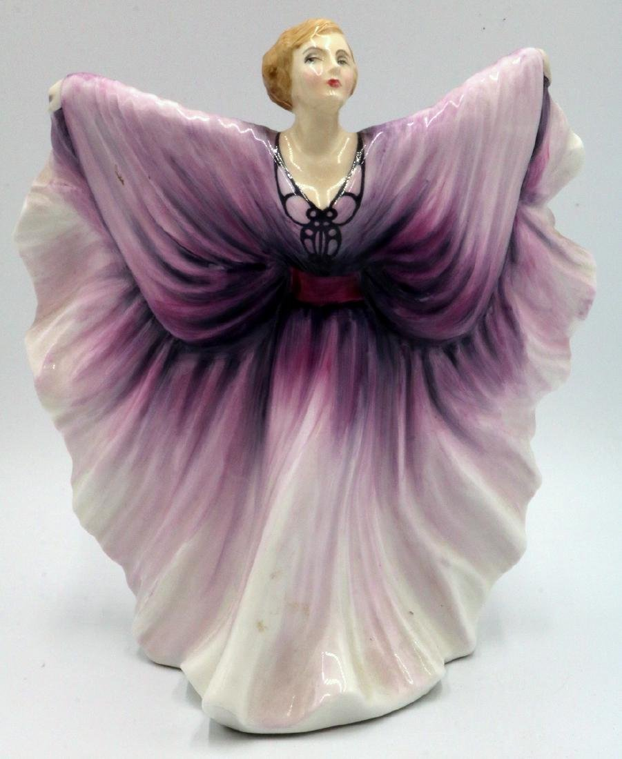 "Royal Doulton ""Isadora"" Porcelain Figure"