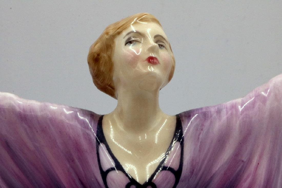 "Royal Doulton ""Isadora"" Porcelain Figure - 2"