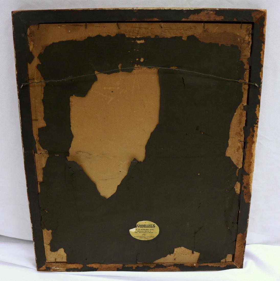 "Joe Jones (American 1909-1963) ""Head"" Lithograph - 6"