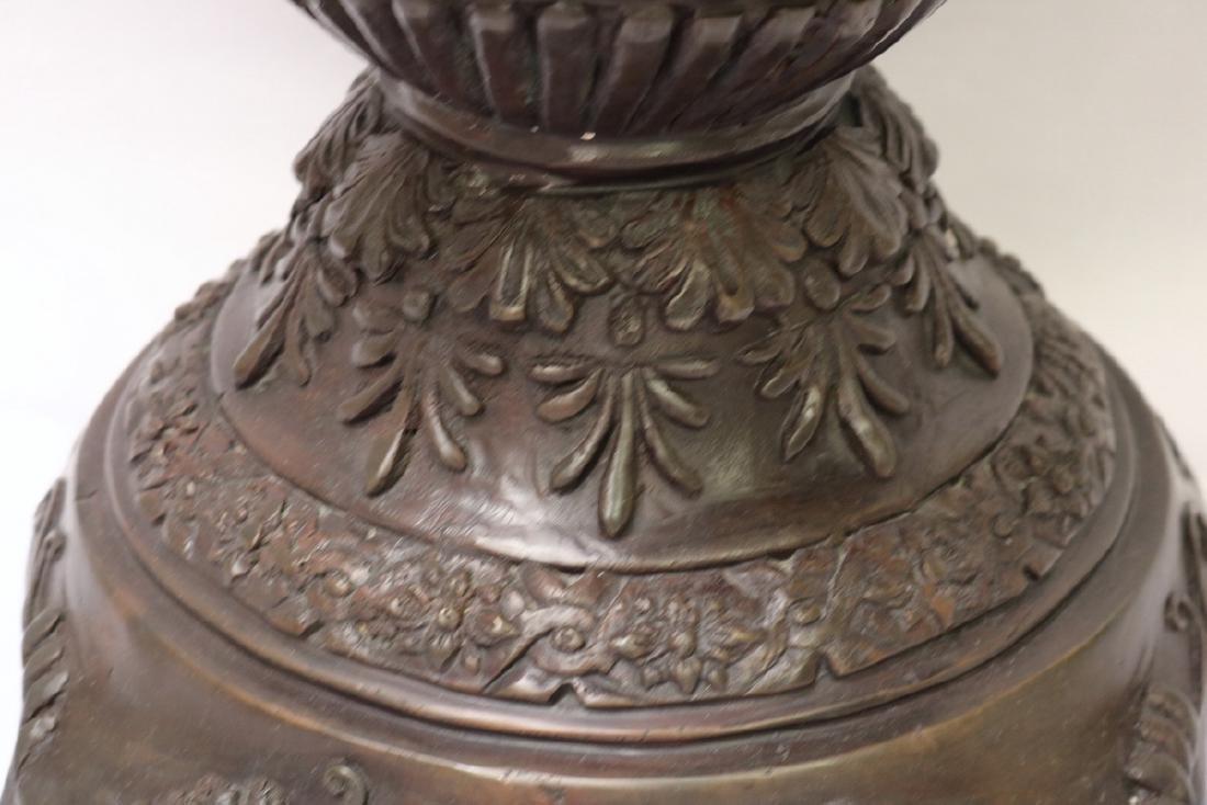 Maitland Smith Large Cherub Bronze Planter - 6