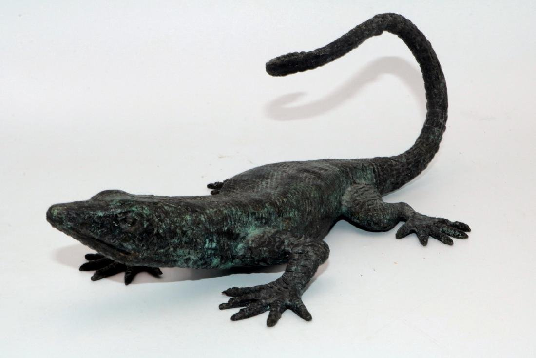 Maitland Smith Bronze Lizard