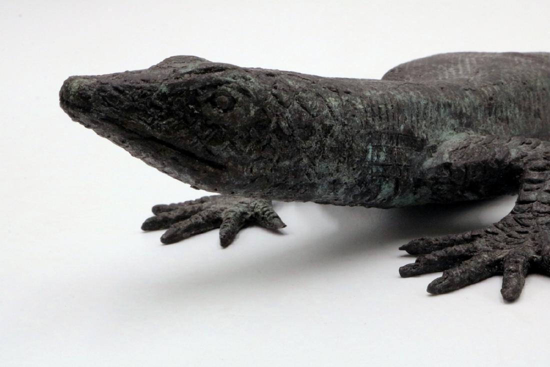 Maitland Smith Bronze Lizard - 2