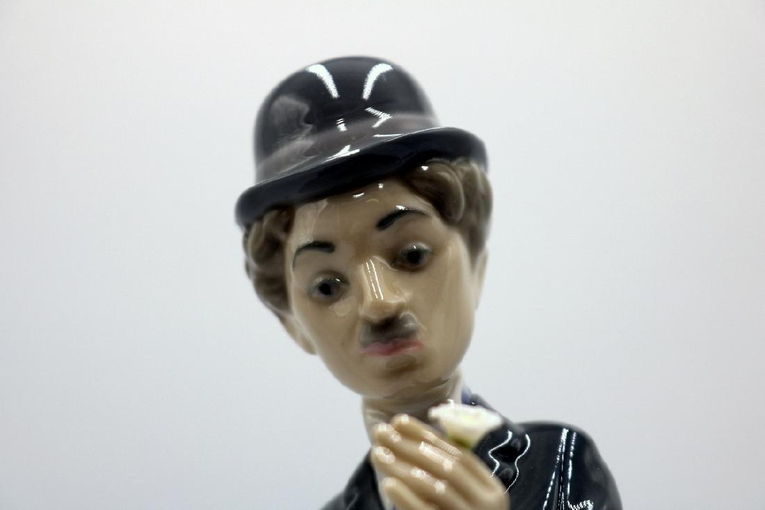 "Lladro ""Charlie the Tramp"" #5233 Porcelain Figure - 2"