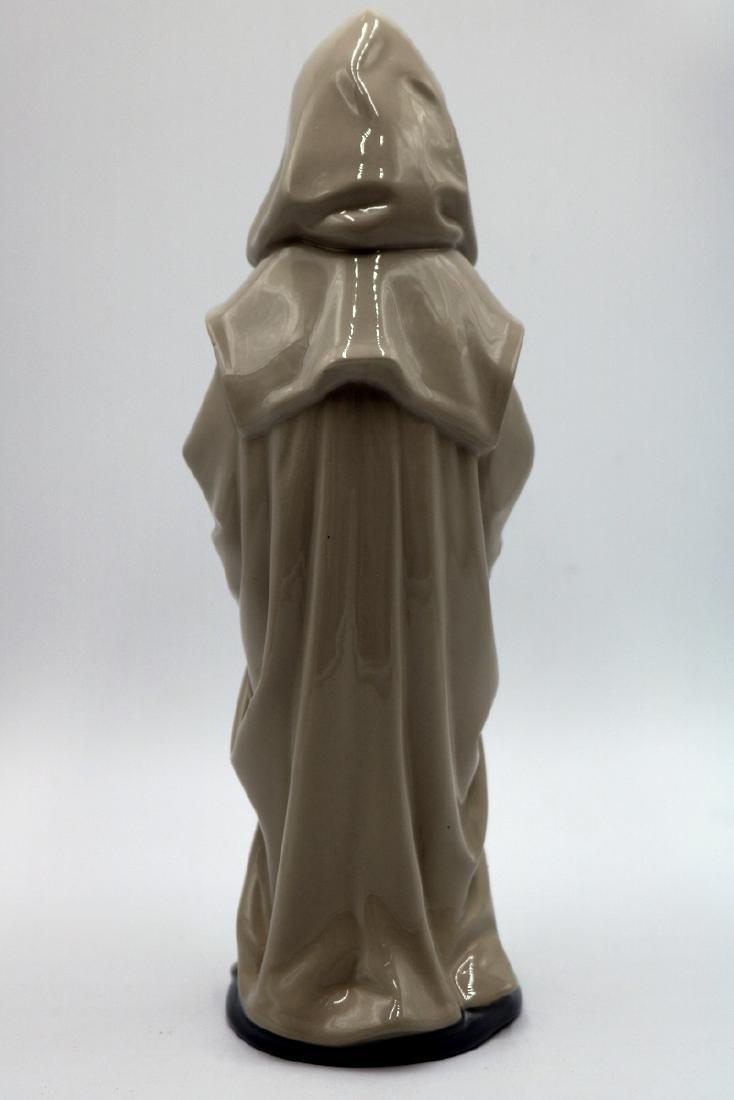 "Nao by Lladro ""Boy in Rain Coat & Dog"" #354 Porcelain - 4"