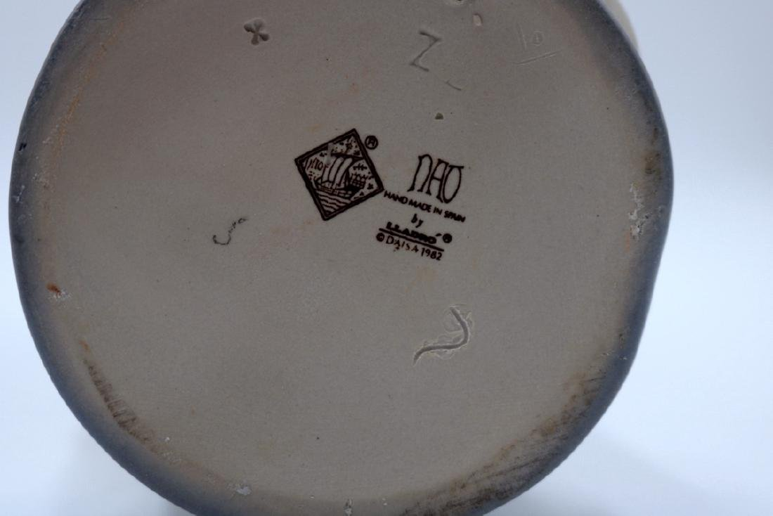"Nao by Lladro ""Boy in Rain Coat & Dog"" #354 Porcelain - 6"