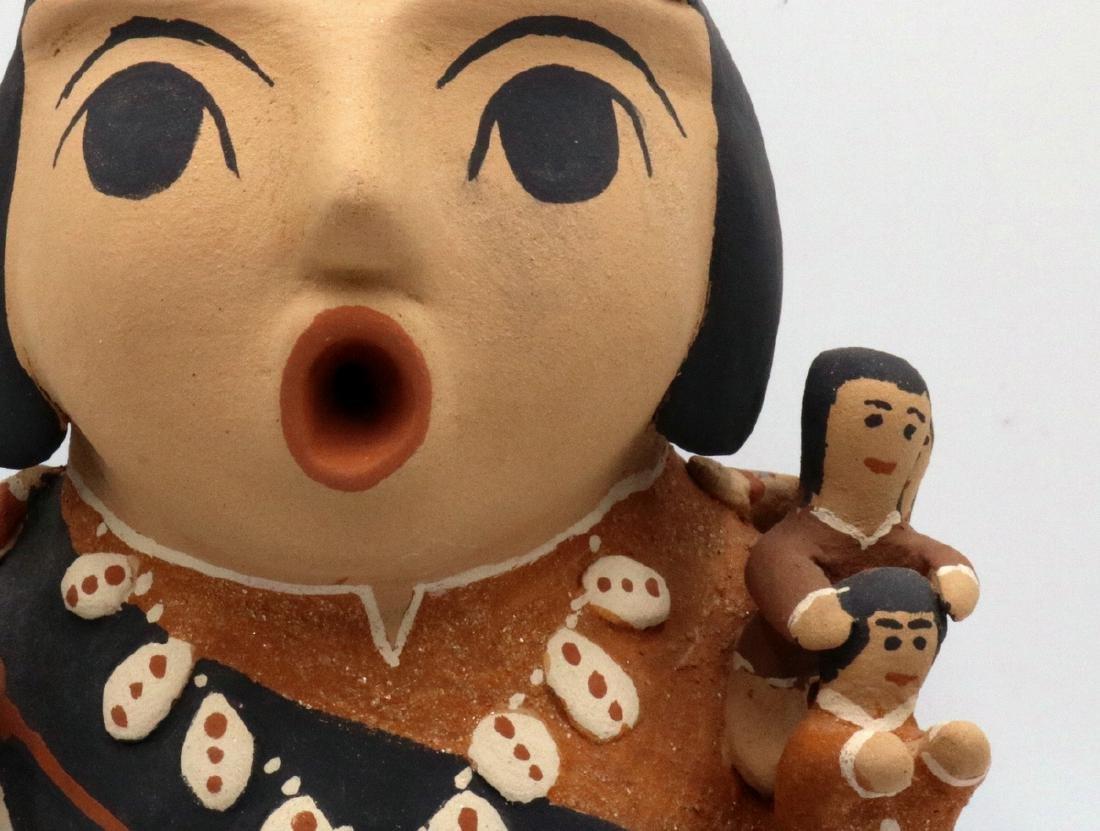 Two CLS Jemez/Pueblo Native American Sculptures - 4