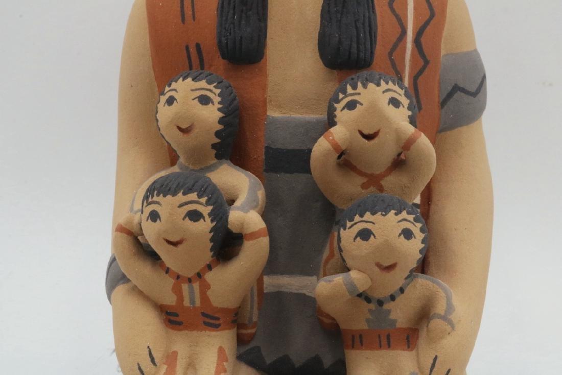 Two CLS Jemez/Pueblo Native American Sculptures - 6