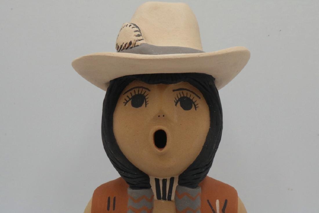 Two CLS Jemez/Pueblo Native American Sculptures - 7