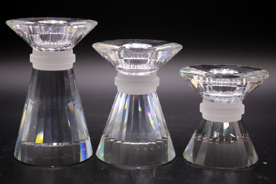 Swarovski Crystal Graduating Candle Holders