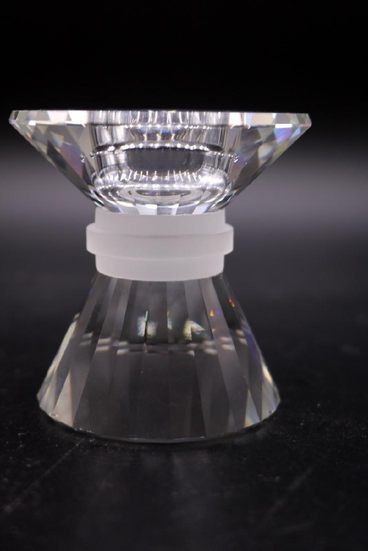 Swarovski Crystal Graduating Candle Holders - 4
