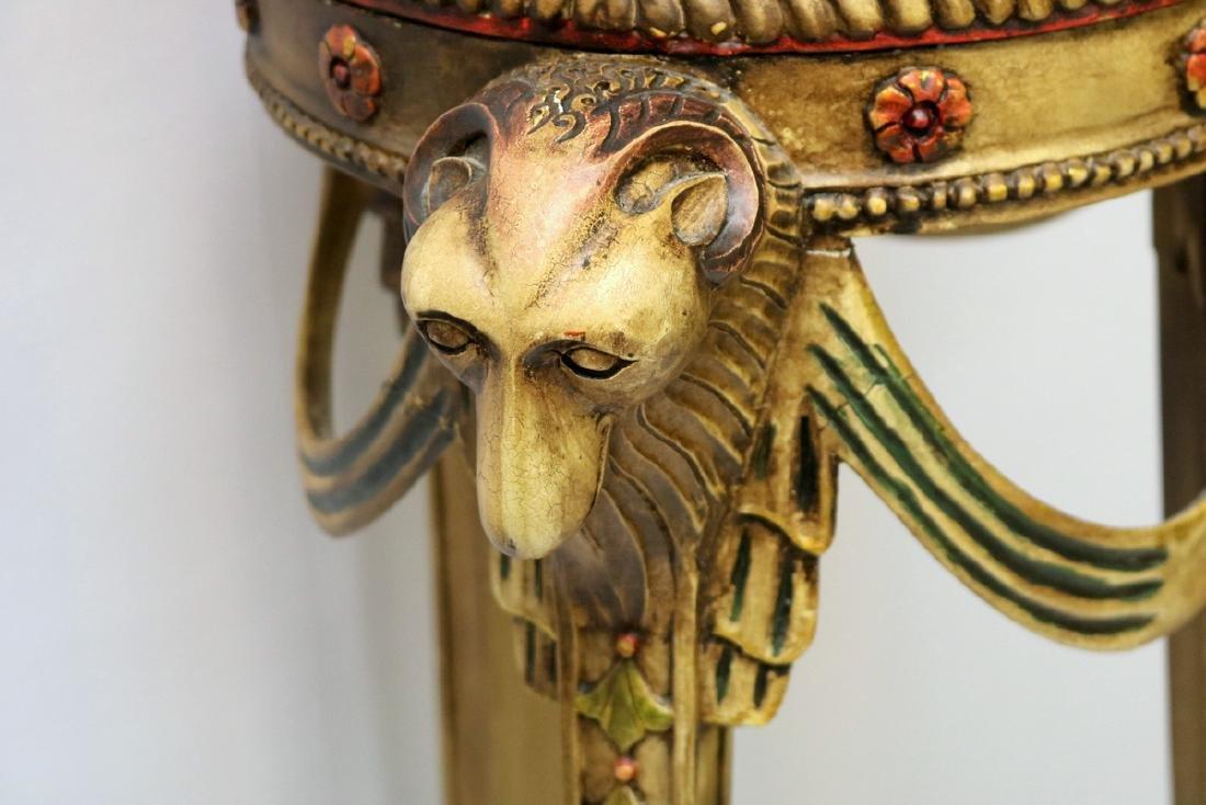 Contemporary Ram's Head Pedestal - 2