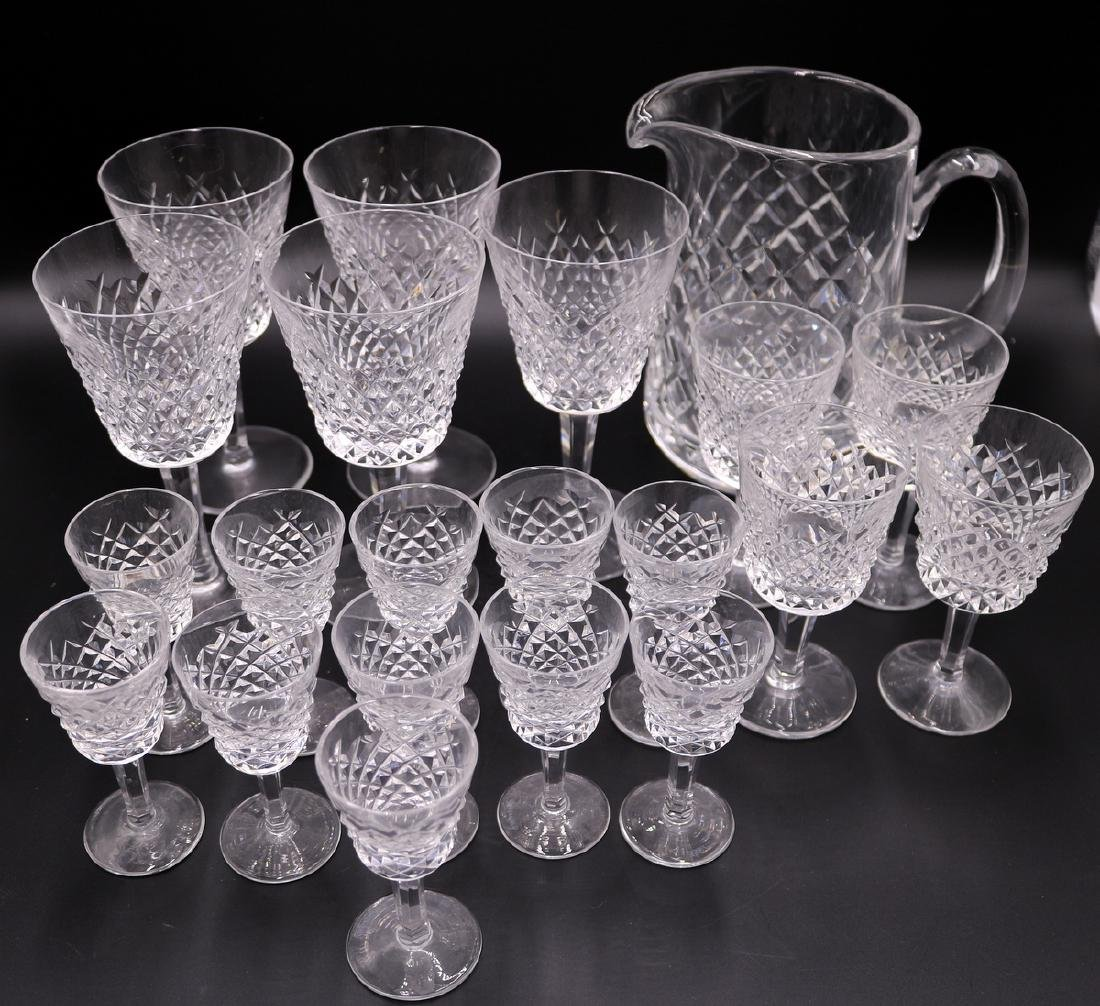 """21 Pc. Waterford """"Alana"""" Crystal Set"""