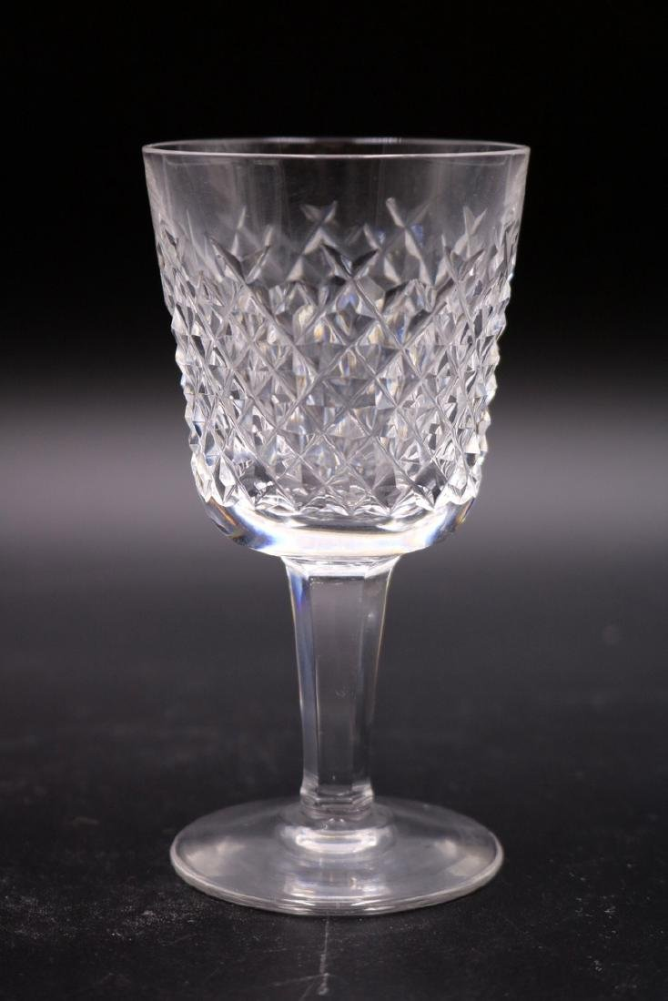 """21 Pc. Waterford """"Alana"""" Crystal Set - 4"""
