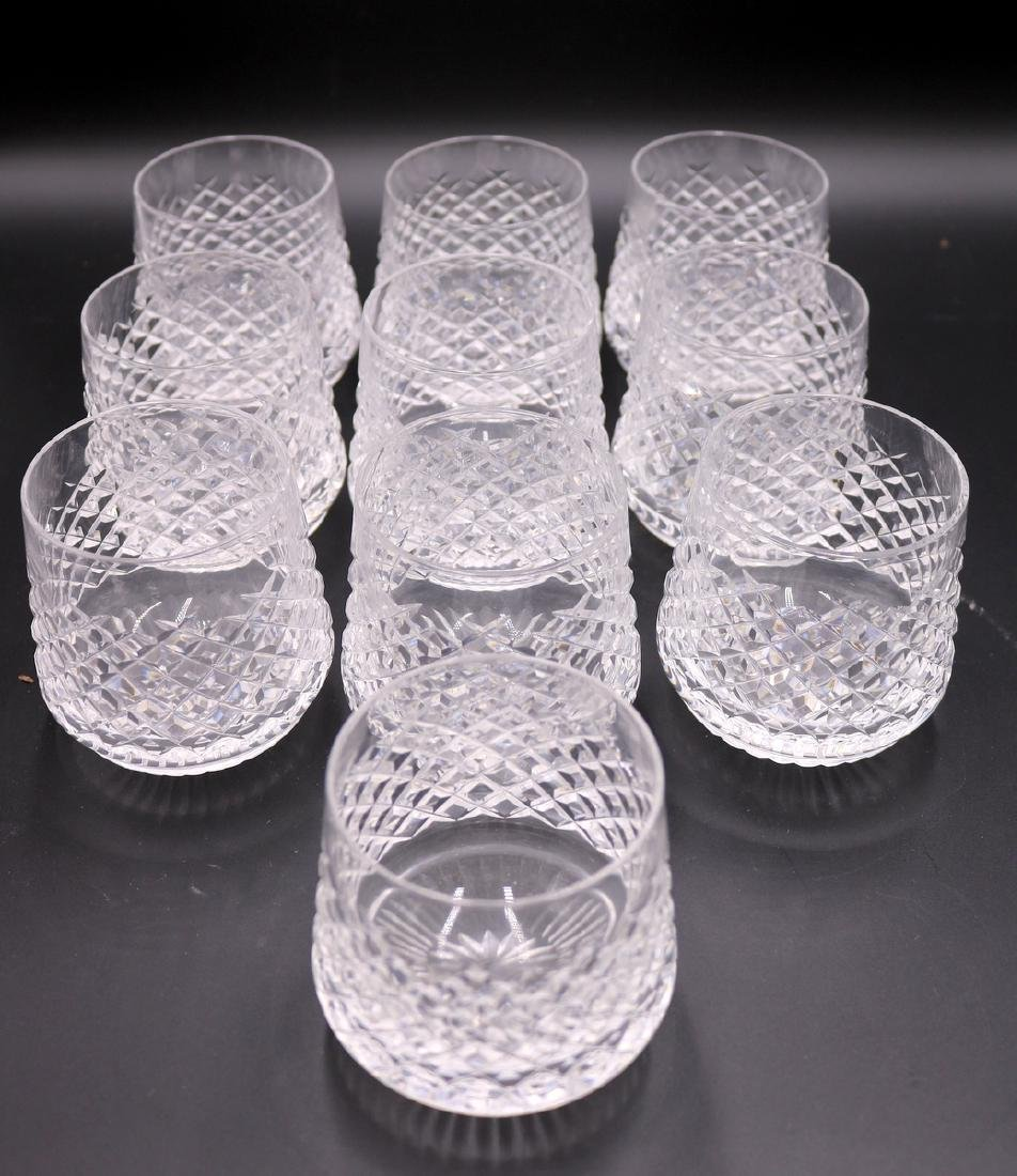 "10 Pc. Waterford ""Alana"" Crystal Roly Poly's"