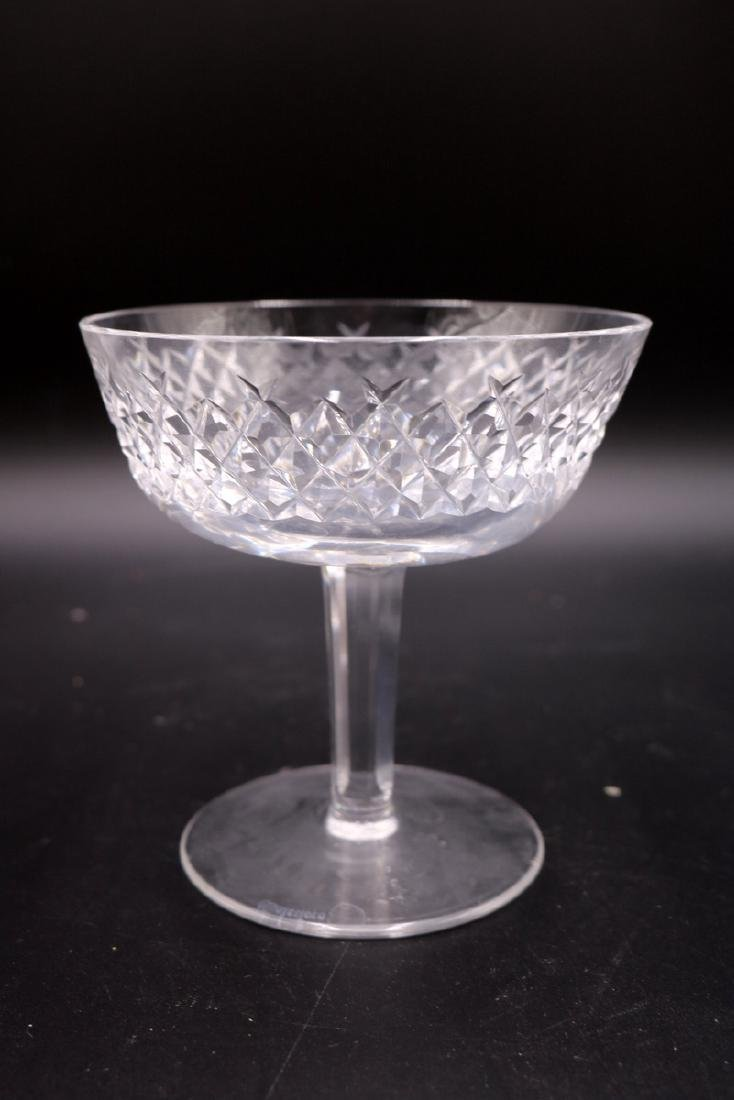 """6 Pc. Waterford """"Alana"""" Crystal Champagne Glasses - 2"""