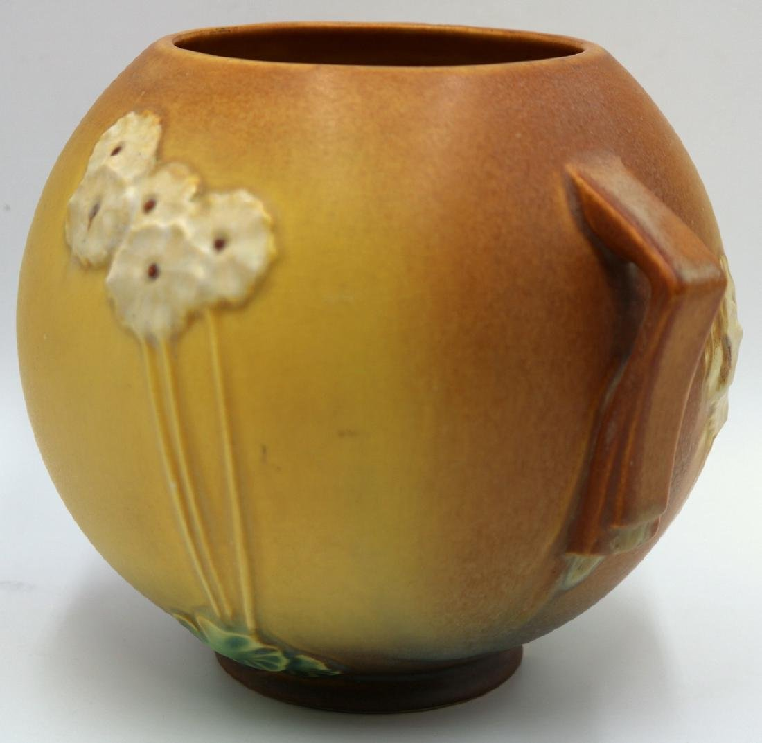 "Roseville ""Primrose"" Handled Pottery Bowl - 2"