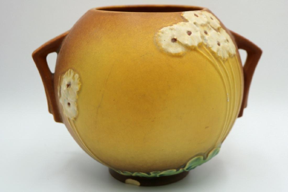 "Roseville ""Primrose"" Handled Pottery Bowl - 3"