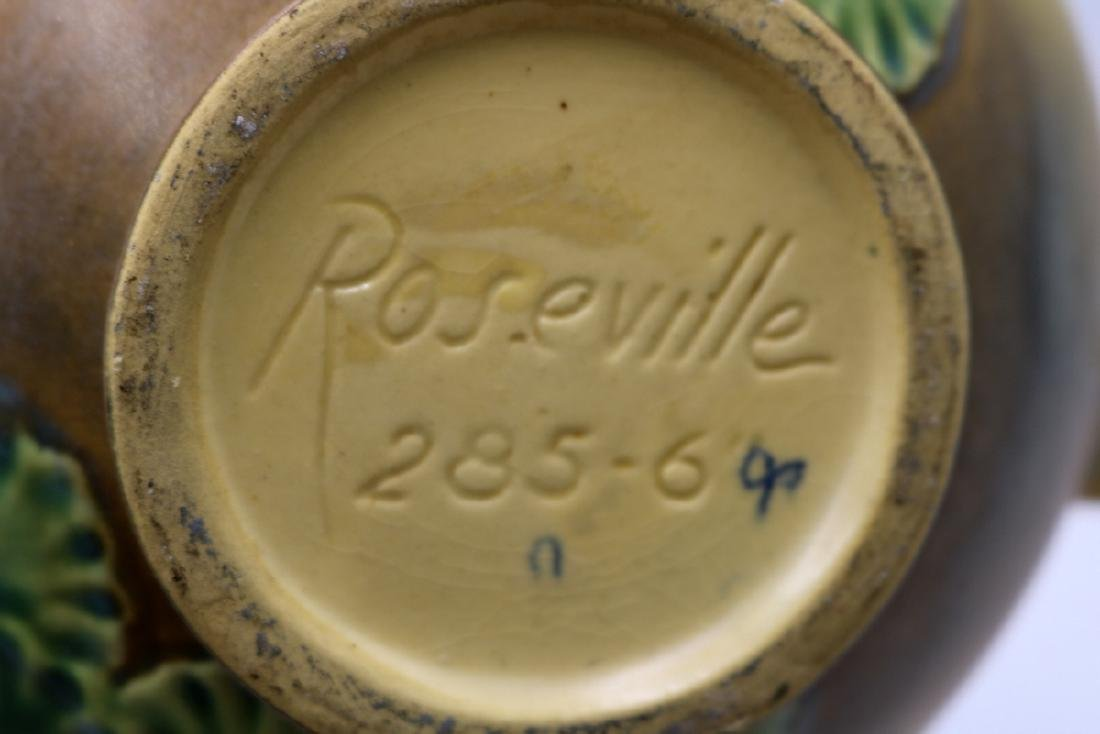 "Roseville ""Primrose"" Handled Pottery Bowl - 4"