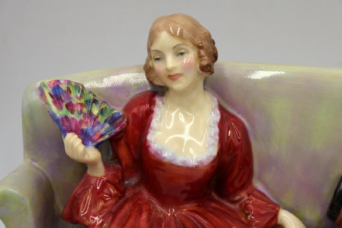 "Royal Doulton ""Sweet & Twenty"" Porcelain Figure - 2"