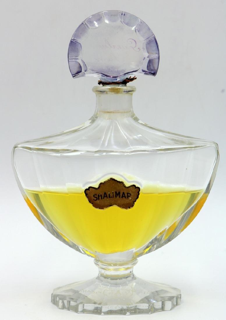 Baccarat Guerlain Shalimar Crystal Perfume Bottle