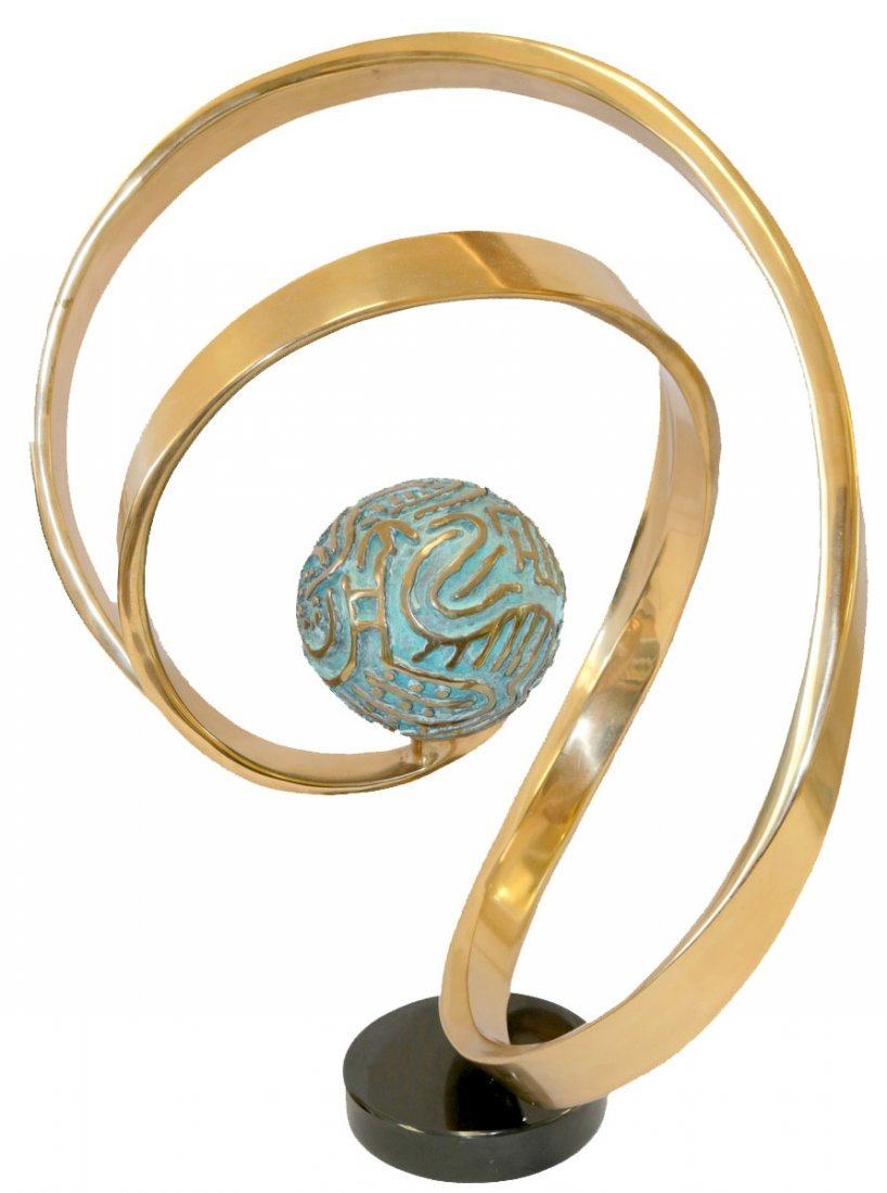 Bill Keating (American b. 1932) Abstract Bronze