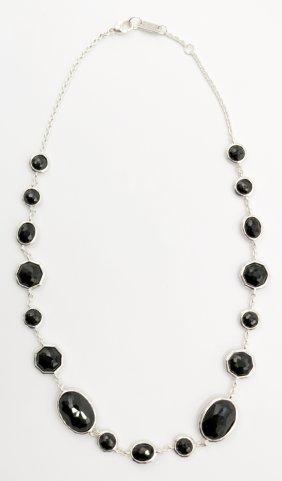 Ippolita Sterling & Black Onyx Necklace