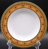 """7 Pc. Rosenthal Versace """"Medusa"""" Porcelain Soup Bowls"""