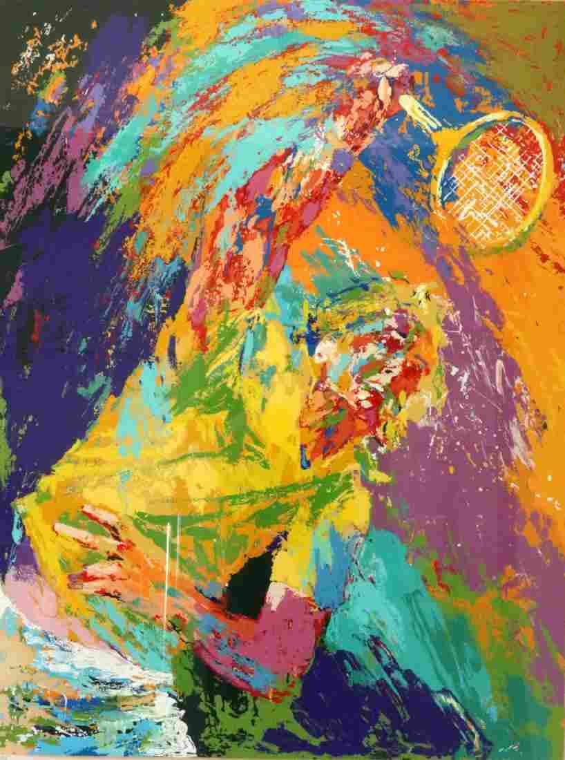 "LeRoy Neiman (American 1921-2012) ""Boris Becker"""