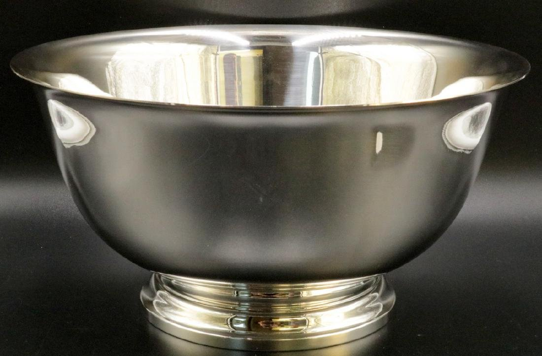 Tiffany & Co. Sterling Silver Punch Bowl