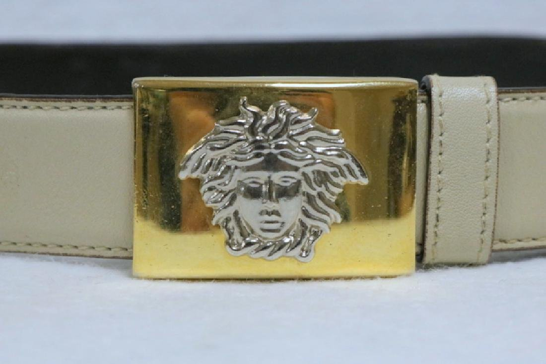 Vintage Gianni Versace Leather Ladies Belt