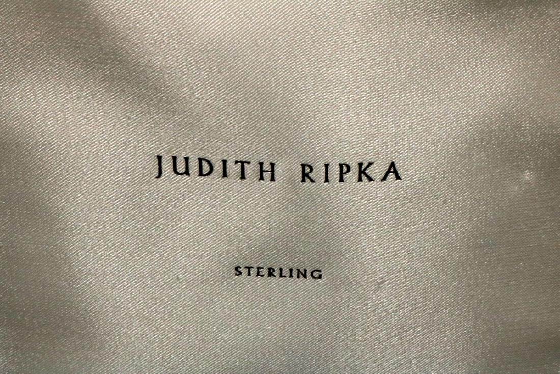 Judith Ripka Sterling Heart Pendant w/ Leather Necklace - 3