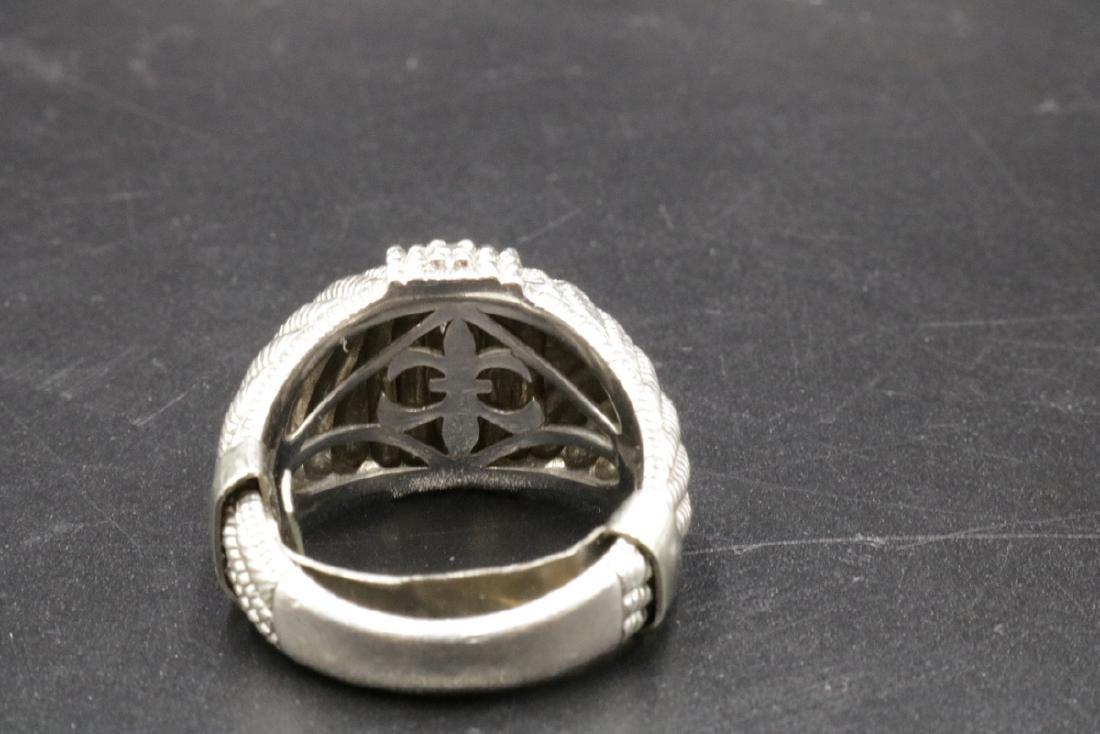 Judith Ripka Sterling CZ Ring - 3