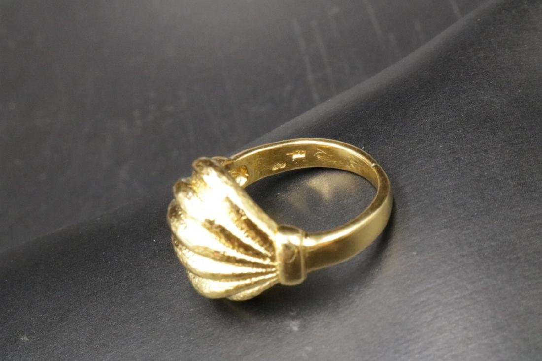 Lalaounis 18Kt Yellow Gold Ring - 4