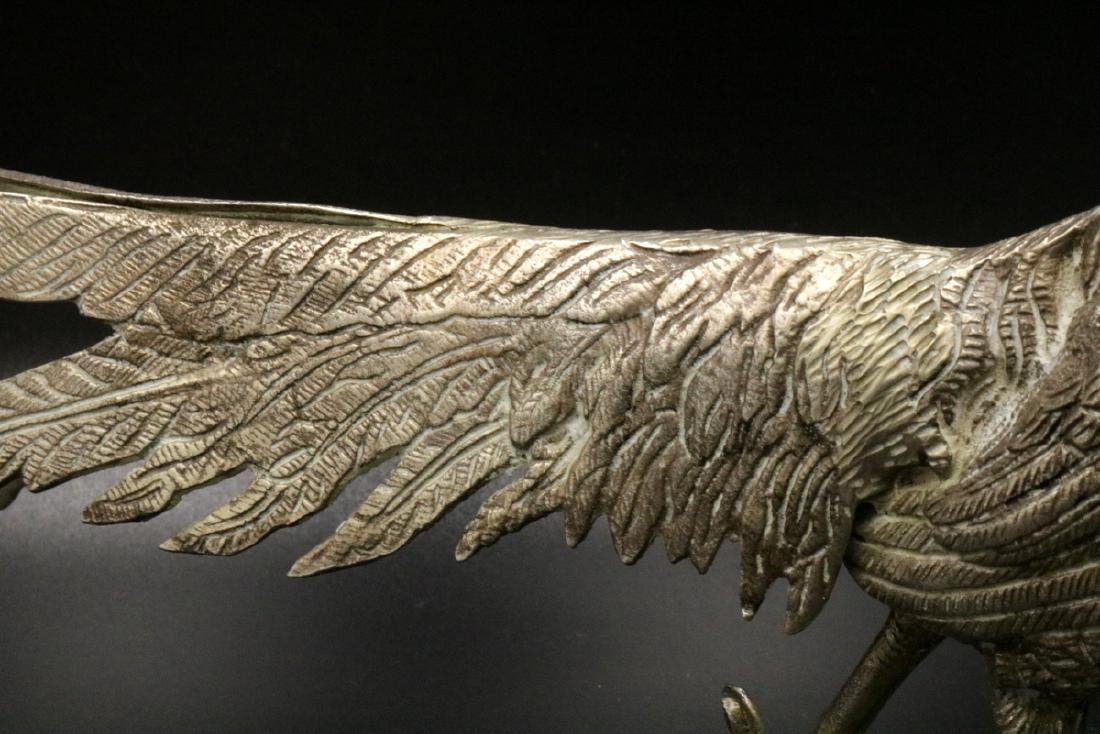 19th C. European Solid Sterling Pheasants - 5
