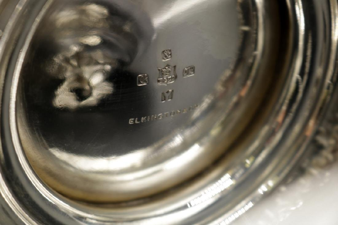 19th C. Elkington & Co. Silver Plated Covered Urns - 8
