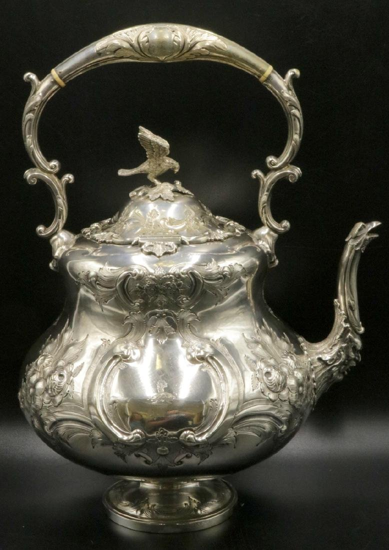 Fabulous Martin Hall & Co. Silver Plated Water Kettle