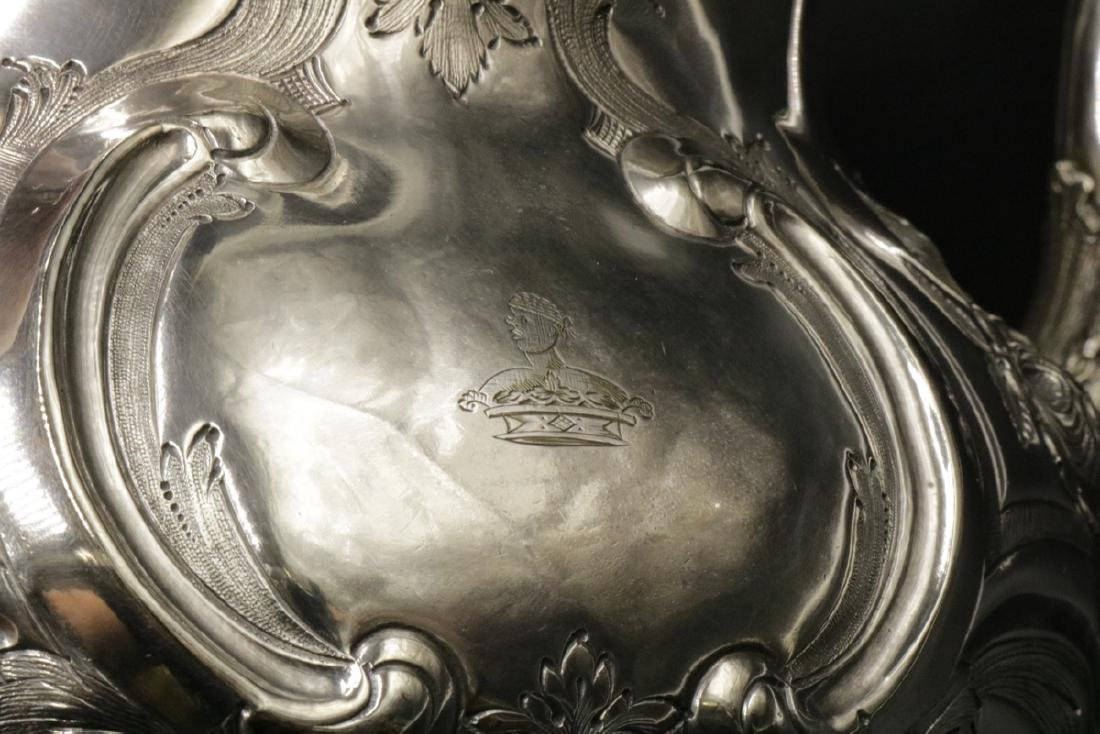 Fabulous Martin Hall & Co. Silver Plated Water Kettle - 3