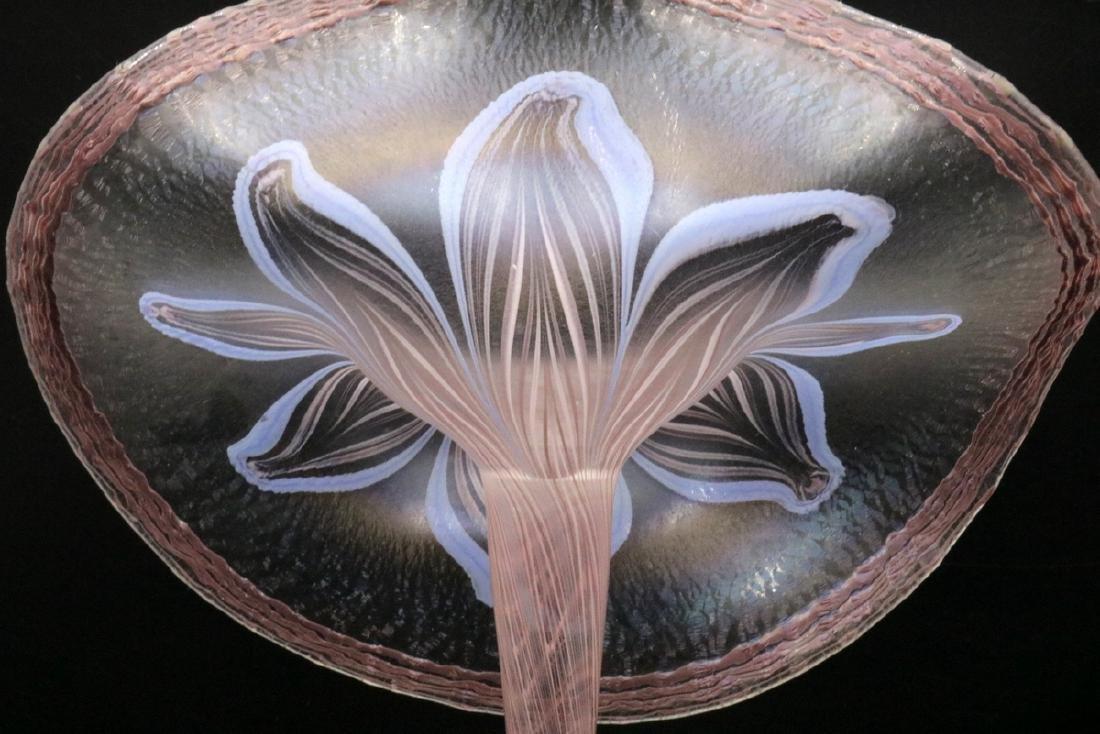 Vandermark Merritt Art Glass Jack in the Pulpit - 3