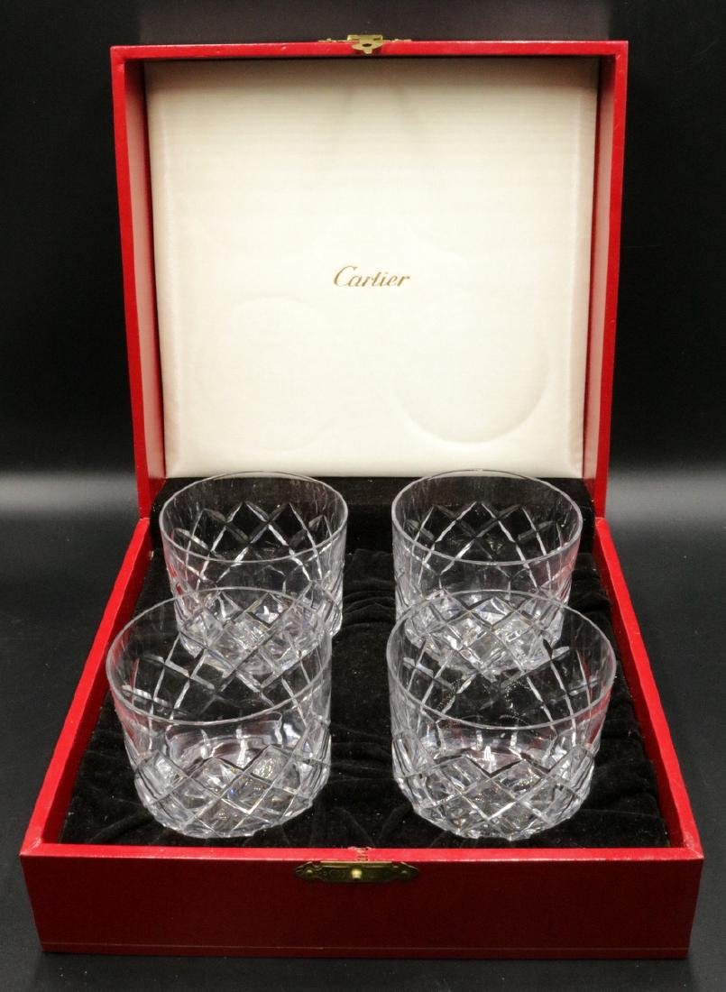 Cartier Crystal Tumbler Set