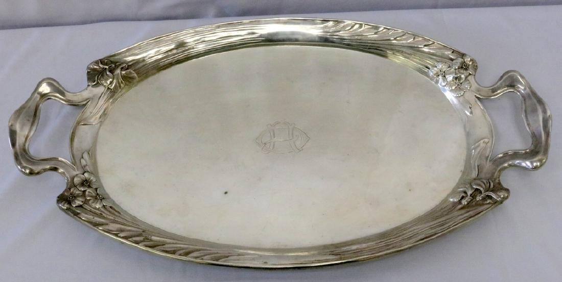 Francisco Carreras 916 Silver Handled Tray
