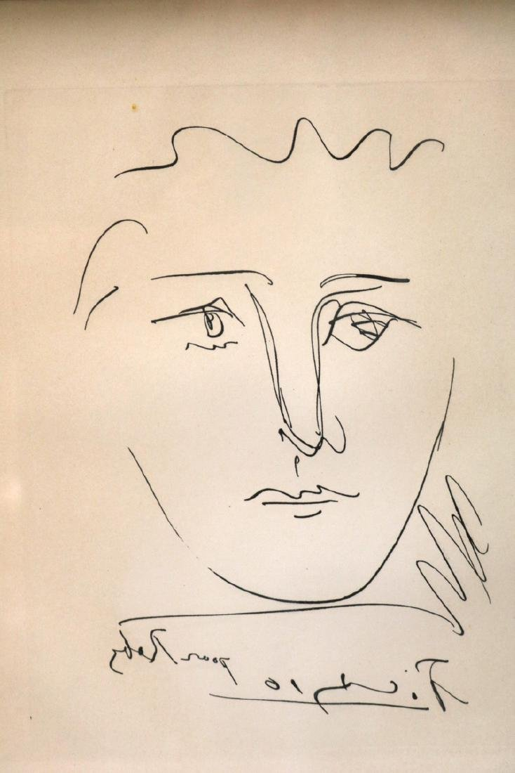 "Pablo Picasso (Spain 1881-1973) ""Pour Roby"" Original"