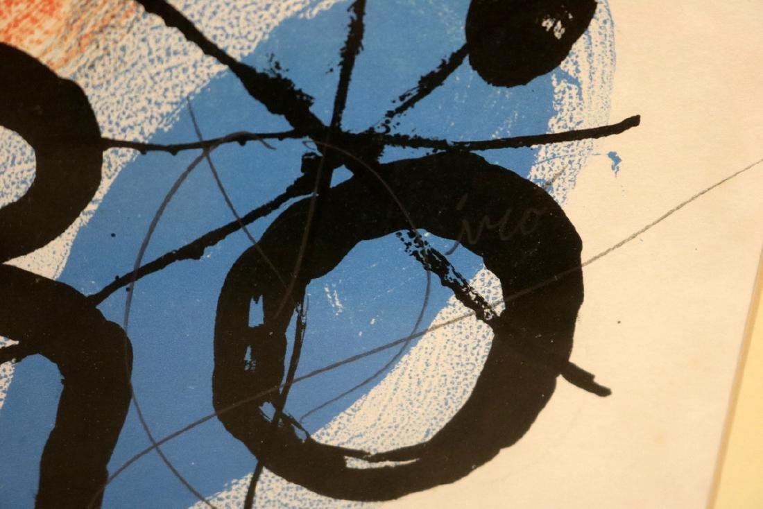 "Joan Miro ""Galerie Maeght"" Lithograph - 5"