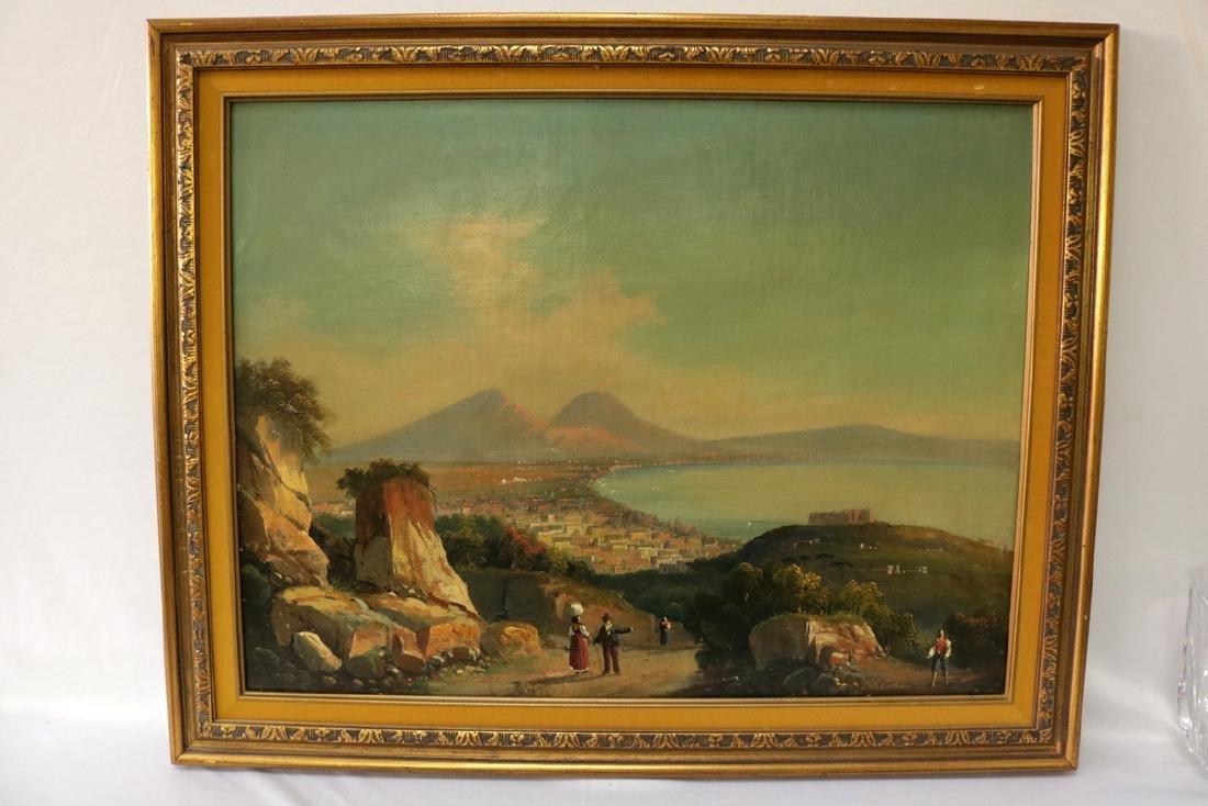 Late 19th C. European Oil on Canvas - 2
