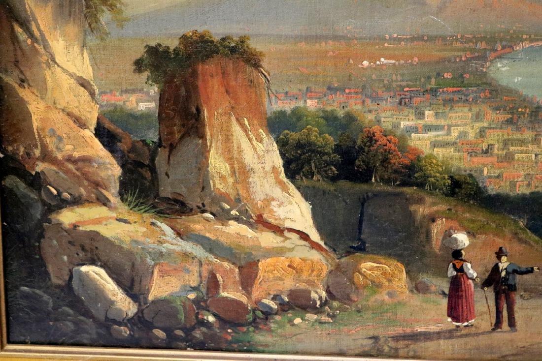 Late 19th C. European Oil on Canvas - 3