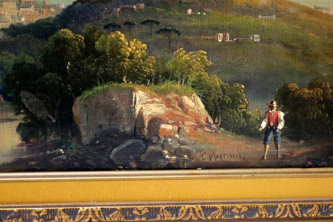 Late 19th C. European Oil on Canvas - 4