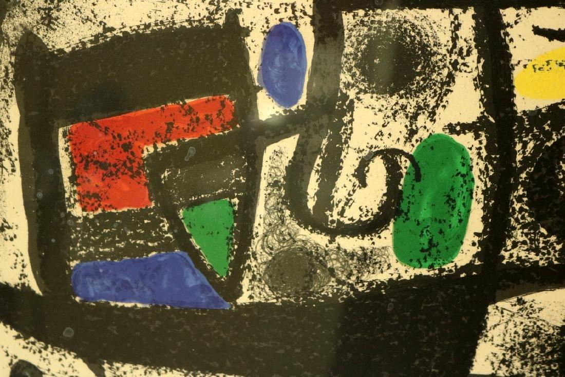 """Joan Miro """"Star Scene"""" Lithograph - 2"""