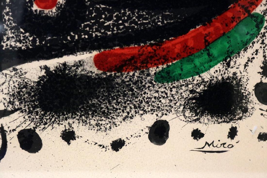 """Joan Miro """"Star Scene"""" Lithograph - 3"""