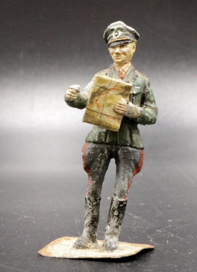 English Painted Iron Soldier